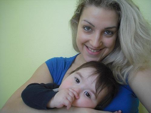 pacient s cystickou fibrózou s matkou